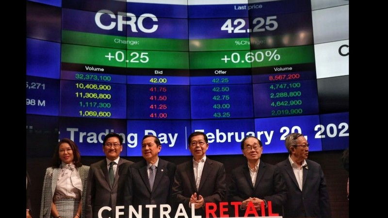 Thai retail giant Central launches record-breaking IPO